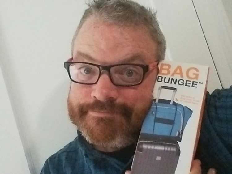 I love my Travelon Bungee! - Photo by the Author