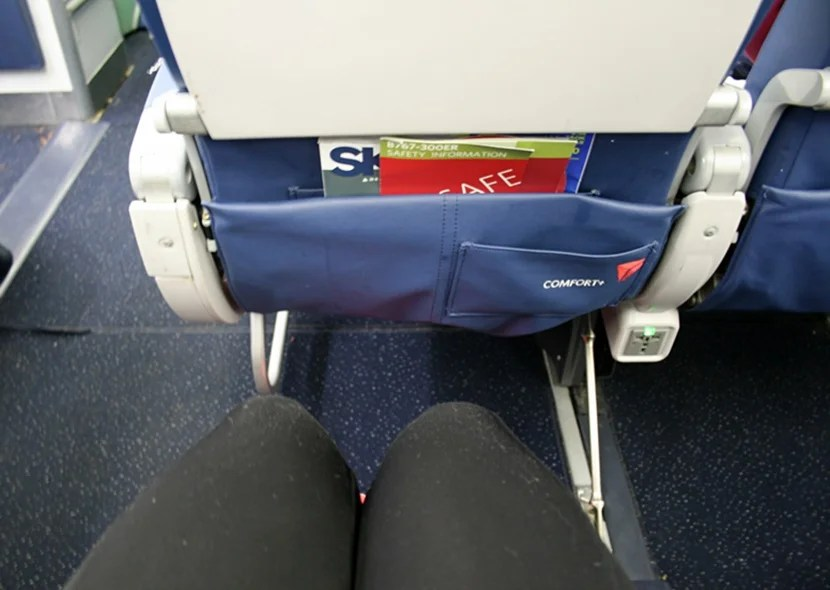 Review delta comfort on a 767 300er jfk to madrid for What is the difference between delta comfort and main cabin