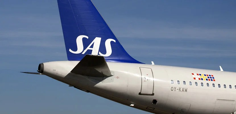 SAS added service to LA.