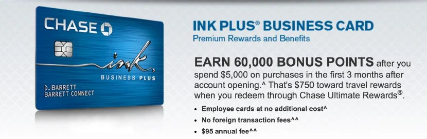 I've almost worn a hole in my Ink Plus Business Card from spending at Staples and OfficeMax.