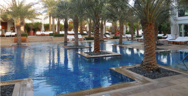 I booked a suite at the Park Hyatt Dubai off of a Points + Cash rate and Diamond Suite upgrade at the 5 month point. Photo courtesy Richard Kerr.