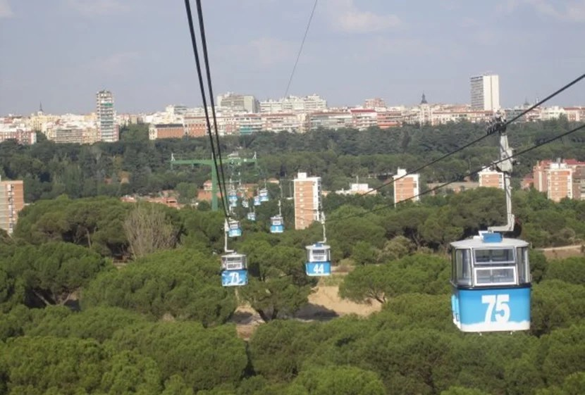 Madrid has its very own cable car.