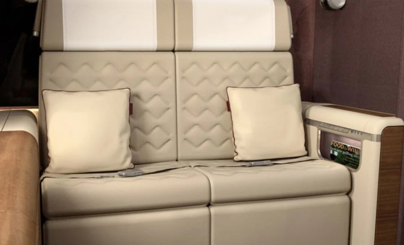 New seat concept designs for Singapore Airlines business and first class. Photo courtesy of DCA Designs.