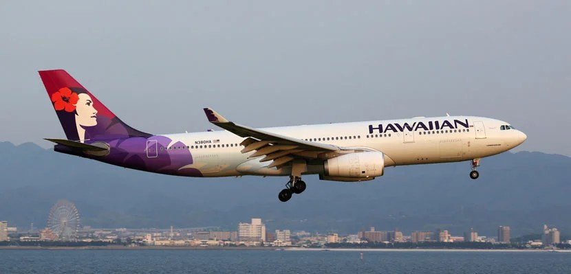 Hawaiian Airlines is adding flights to Asia. Image courtesy of Shutterstock.
