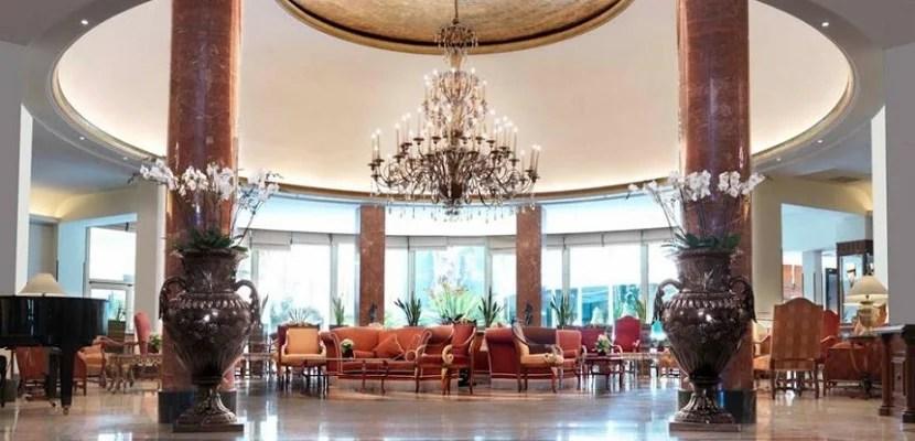 Intercontinental Madrid lobby featured