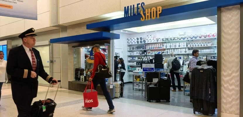 United miles shop featured