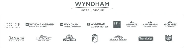 Earn AA miles at all participating Wyndham hotels.