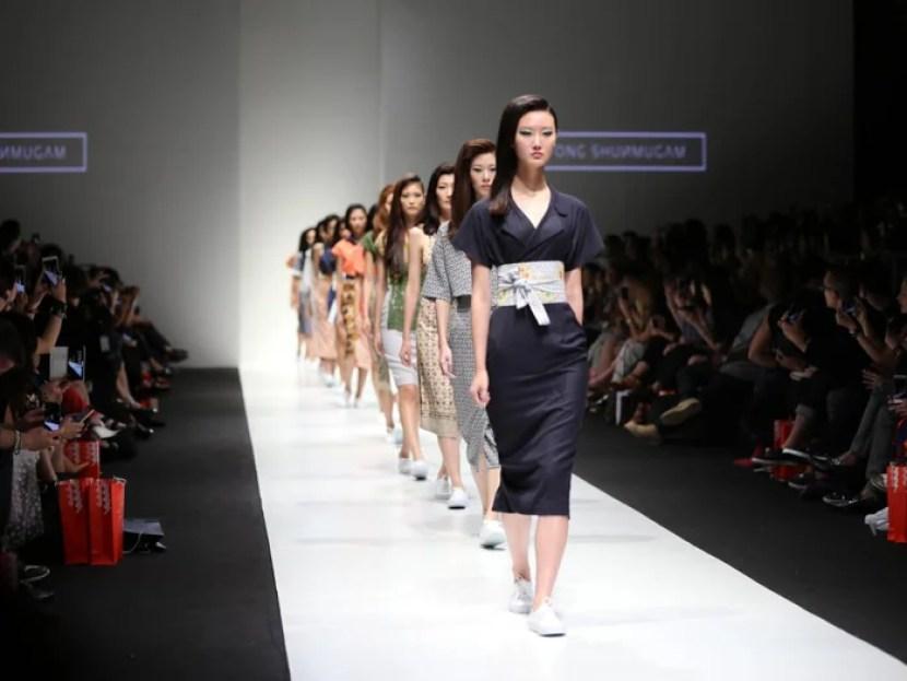 Local designs from Singaporean fashion label Ong Shunmugam. Photo courtesy of Ong Shunmugam.