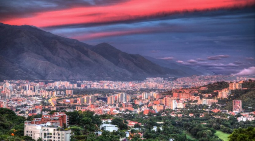 Venezuela, including Caracas, are moving to South America 2. Image curtesy of therecallingme.com