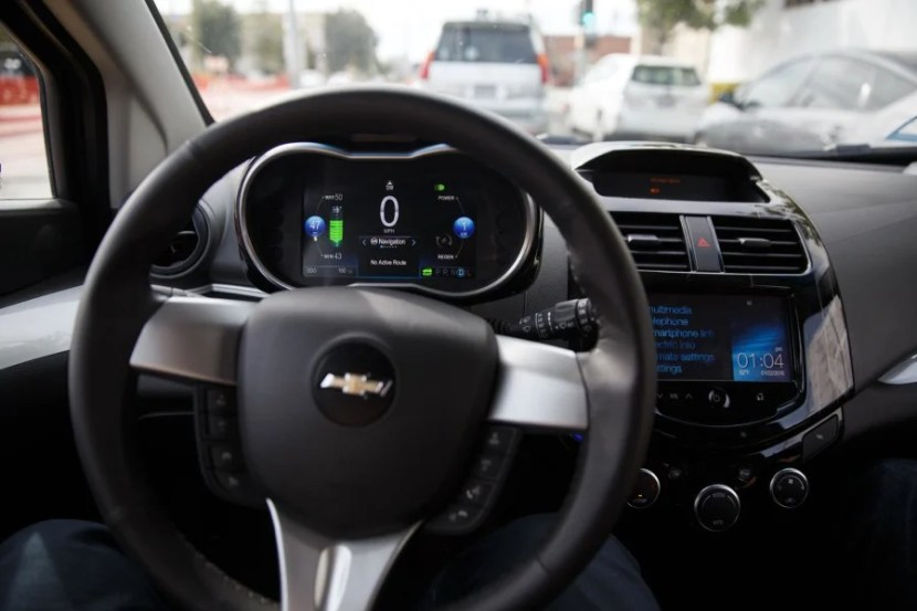 The heads-up display will show you how much charge you have left – it's all electric, too, so no gas to worry about!