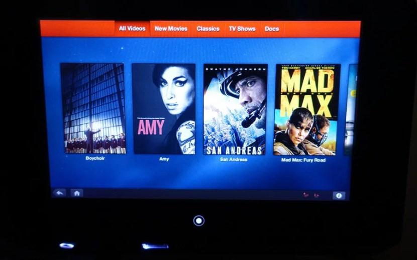 The movie selection on my OSL-JFK flight.