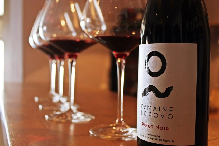 Di Vina specializes in Balkan wines like this Pinot Noir from Macedonia. Image courtesy of Di Vina.