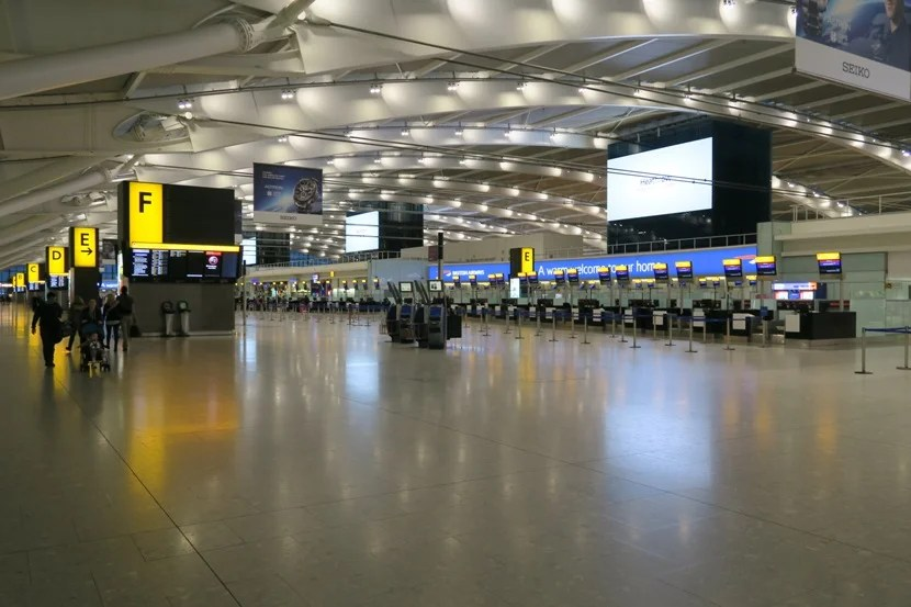 If we needed to check-in, it wouldn't have taken any time, as the terminal was rather empty Christmas Day!