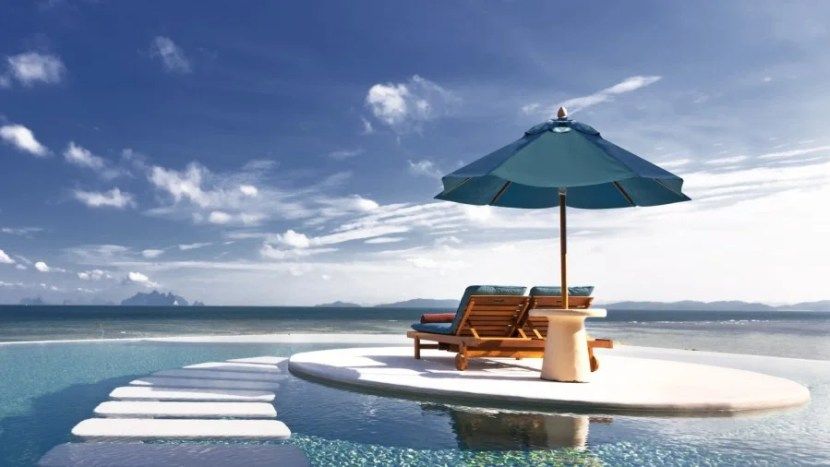 Experience luxury at The Naka Island Resort & Spa, part of Starwood's Luxury Collection. Image courtesy of the hotel.