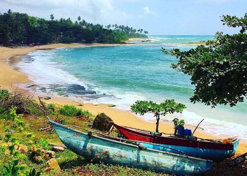 Sri Lanka (and its beaches( will now be considered part of the Indian Subcontinent. Photo by Eric Rosen.