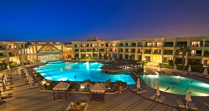 The Hilton Hurghada Resort in Egypt.