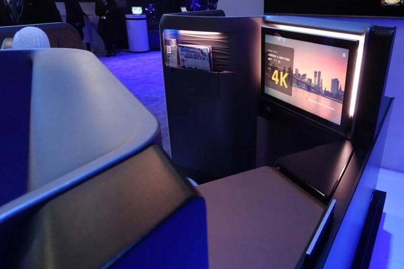 Panasonic Waterfront Business Class Seat
