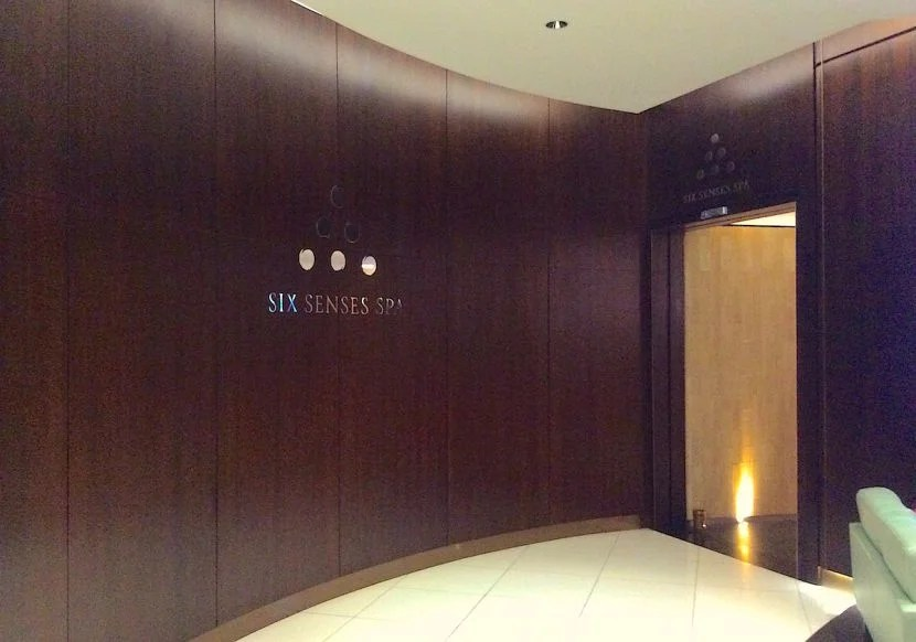 I headed straight back to the Six Senses spa to book an appointment and take a shower.