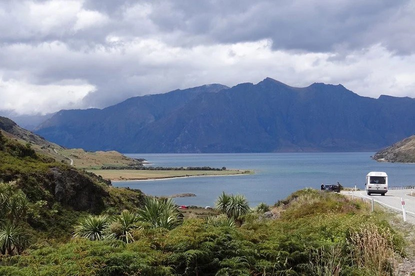 You'll have plenty of time to take in the scenery, like I did in New Zealand during a solo trip in 2012.