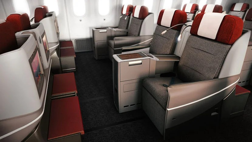 TAM's A350s will have the same business-class seats as its Boeing 787s (pictured here). Image courtesy of LATAM.