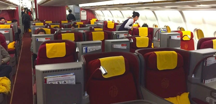 Hainan Airlines' Business-Class Cabin