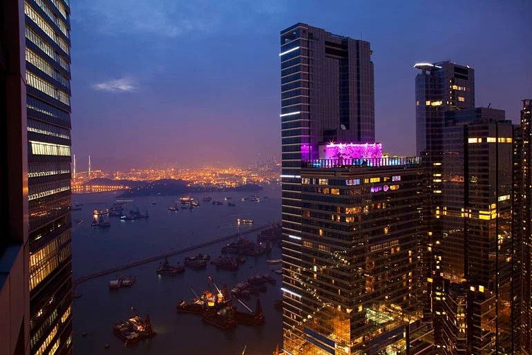 With the Starwood Preferred Guest Amex, you earn points that can be redeemed at properties like the W Hong Kong.