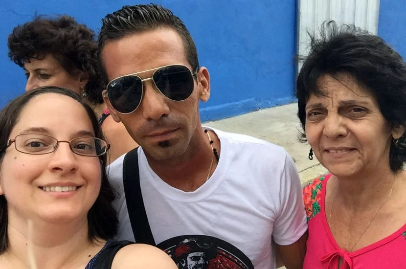 It was so nice to meet Sendi and his mother by the harbor in Cienfuegos.