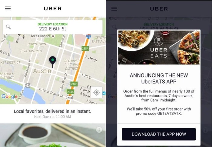 Uber shutdown - only UberEats left