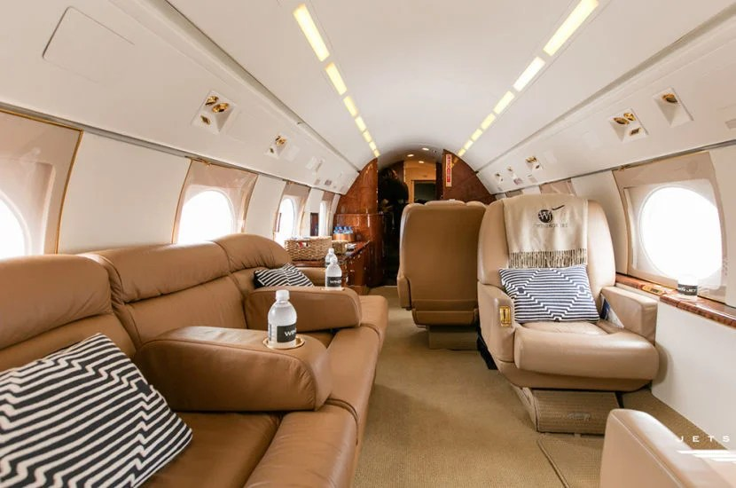 Get three months of private flying for free — like this JetSmarter Gulfstream IV.