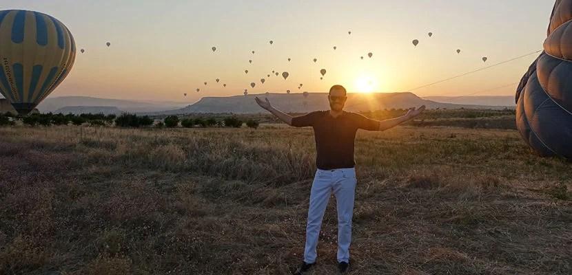 hot balloon cappadocia