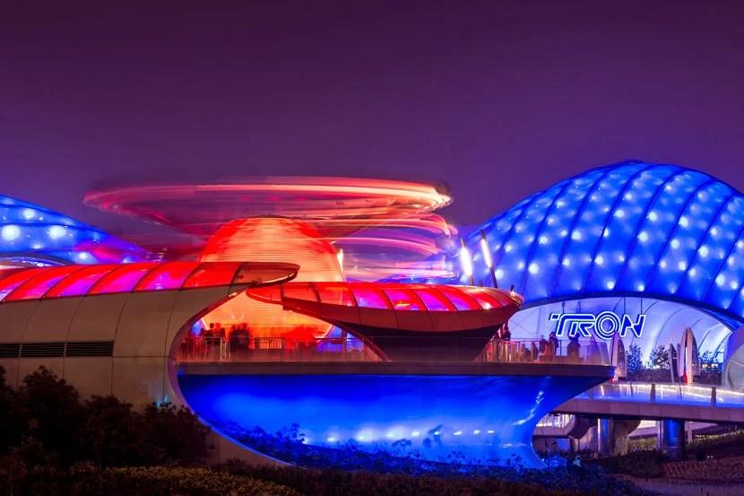 Tomorrowland at Shanghai Disneyland.