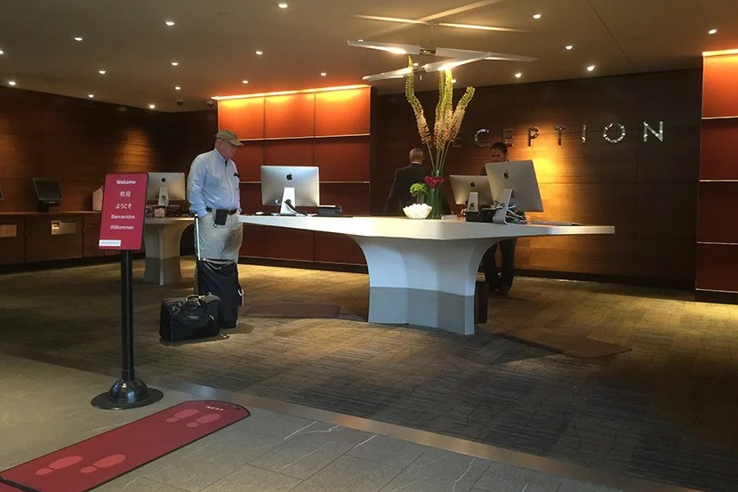 Reception never seemed to be fully staffed during our stay.