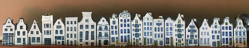 On the left, the 20th KLM house to join my family's collection.