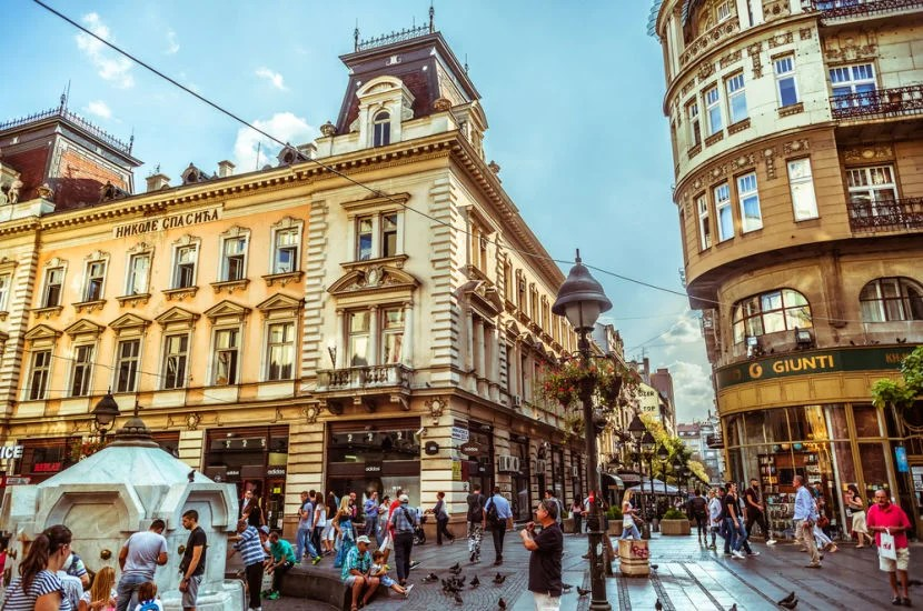 You could win two round-trip tickets to Belgrade.