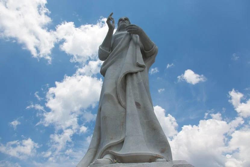 Havana's Christ Redeemer.