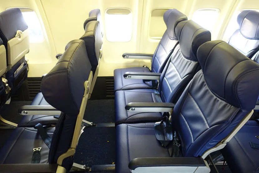 Review Southwest (Boeing 737) from Newark to Las Vegas
