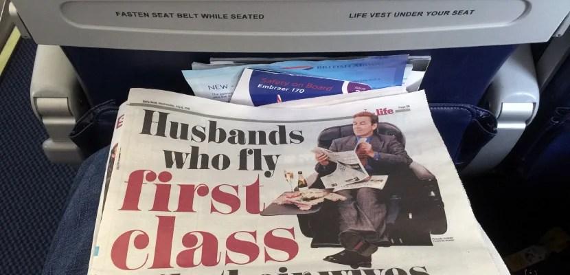 husbands first class featured