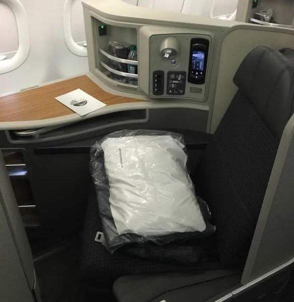 My A321T First Class seat.