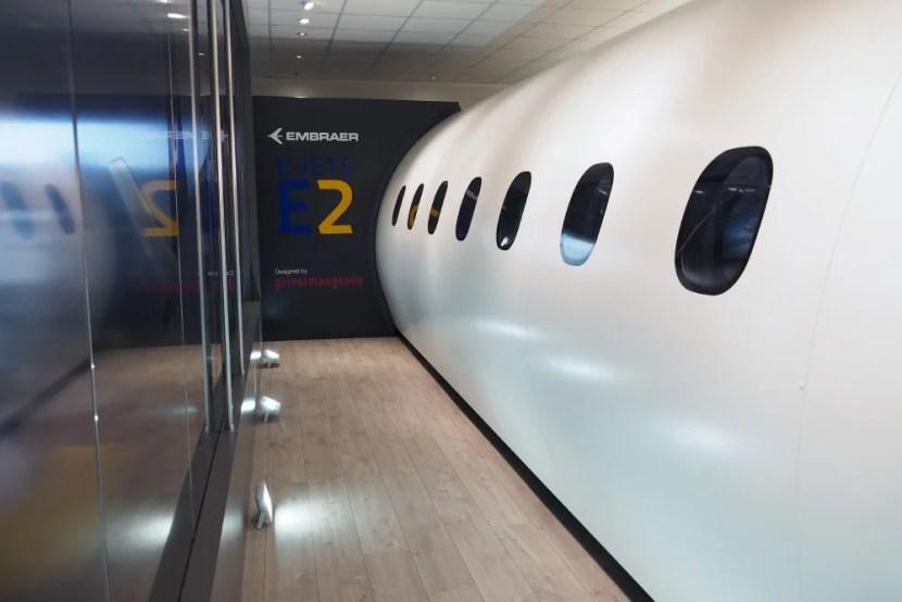 Embraer E2 Farnborough