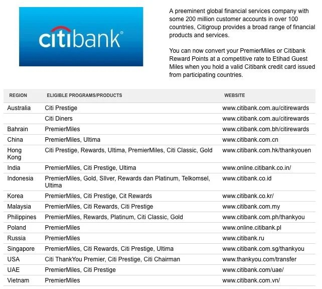 Theses Citi points transfers are eligible.