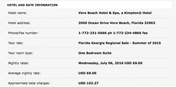 Vero Beach confirmation 1