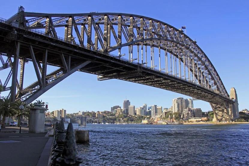 Sydney Harbour Bridge in Australia. Image courtesy of Shutterstock.