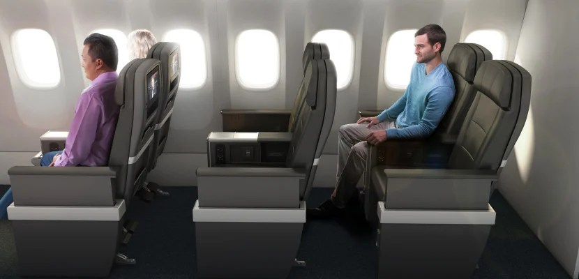 A look at American Airlines' premium economy product on the 787-9.