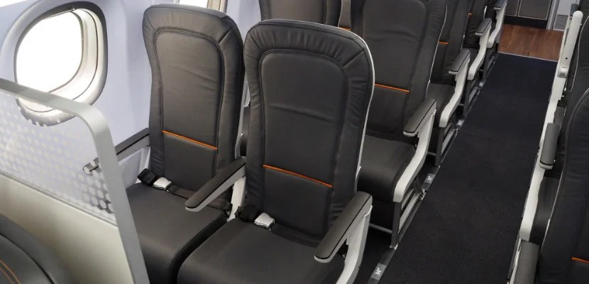 Economy Seat Pitch Farnborough