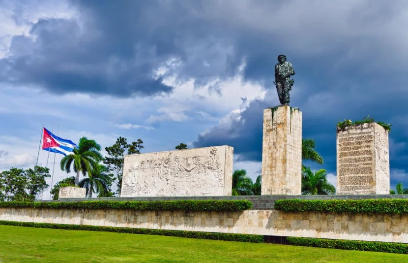 "The Che Guevara Mausoleum definitely warrants a visit. Photo courtesy of <a href=""http://www.shutterstock.com/dl2_lim.mhtml?src=cUaH8riovWJg_Sf4o2FCRQ-1-20&clicksrc=download_btn_inline&id=88508956&size=medium_jpg&submit_jpg="" target=""_blank"">Shutterstock</a>."
