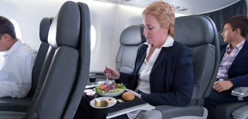 Among the improvements are healthier salads in premium cabins.