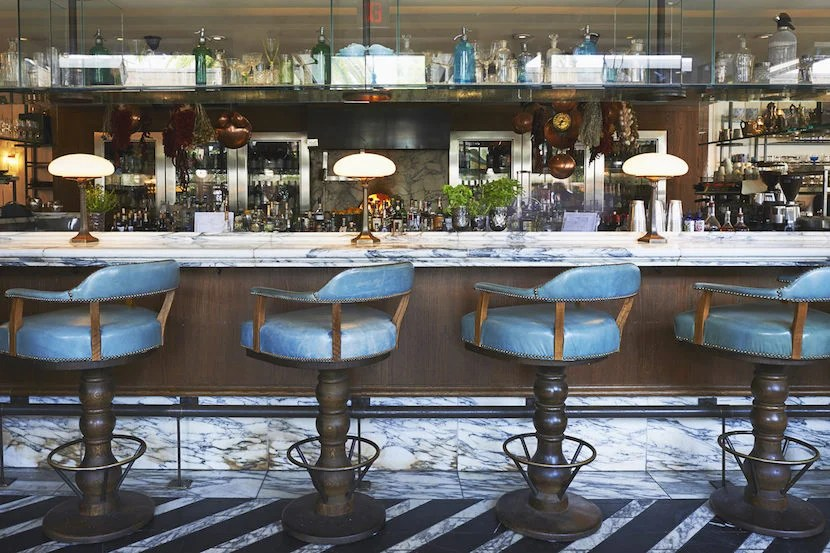 Settle in at Cecconi's for celebrity-caliber cocktails. Imagecourtesy of Visit West Hollywood.