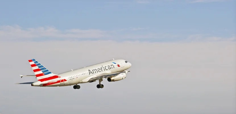 American Airlines Plane in Flight-Image Courtesy of Shutterstock
