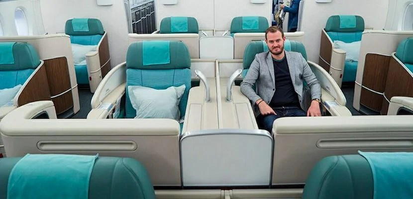 See how TPG scored a first-class trip on Korean Air thanks to the Sapphire Reserve's sign-up bonus.