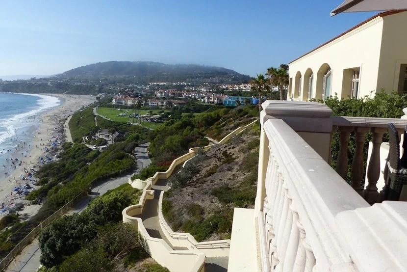 Ritz-Carlton Laguna Niguel views of the beach below